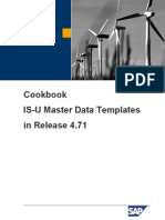 Sap Isu Master Data Template