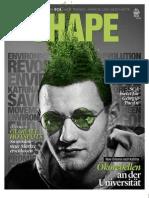 SCA Magazin SHAPE 4 / 2011 - Wirtschaftsmotoren und Zuwachsmärkte