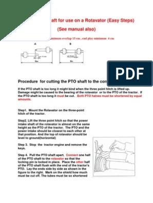 Cutting PTO