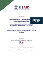 Usaid Swot Analiza Telco i Ict Srbija
