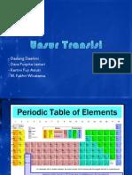 Kimia XII SMA - Unsur Transisi