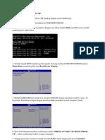 Instal Windows Xp