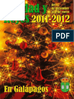 Programa de fiestas Galápagos 2011-2012