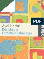 Hacke, Axel - Der Kleine Erziehungsberater