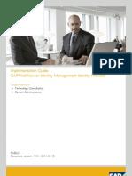 SAP NetWeaver Identity Management Identity Provider