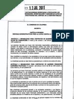 Estatuto Anticorrupcion Proyecto Ley174 2010