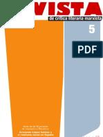 Revista de crítica literaria marxista, nº 05, 2011