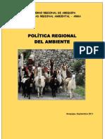 01 Politica Regional Del Ambiente
