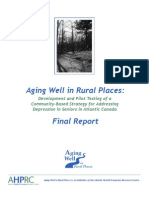 Aging Well in Rural Places