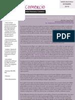 Boletín Finanzas & Comercio setiembre 2010