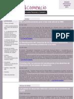 Boletín Finanzas & Comercio agosto 2011