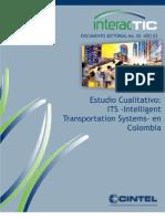05 Estudio Cualitativo ITS (Intelligent Transportation Sistems)