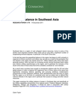 Military balance in Southeast Asia
