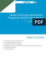 Global Community Development Programme Management