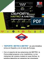 Deporte Metro a Metro Diciembre 2011