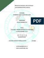 Analisis Sistema Facturación caso MAINPRE