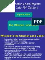 Ottoman Regime 19th Century