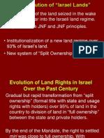 """The Evolution of """"Israel Lands"""""""