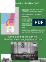 Land, Law and the Conflict - 1948 and the Changing Role of Law