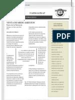 Boletín Farmaunap