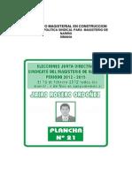 propuesta simana 2012-2015