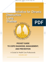 GOLD Guideline - Pocket Guide to COPD Diagnosis, Management and Prevention