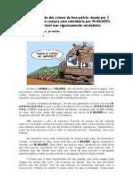 A comprovação dos crimes de lesa pátria na venda da Vale do Rio Doce