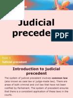 03 Judicial Precedent
