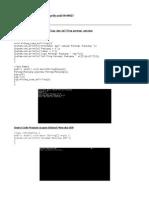Source Code Program mencari luas dan keliling persegi panjang