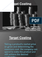 Target Costing Ppt