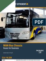 CLA 16.220 Bus Chassis (MACC)