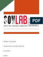 SovLab - Georgian effort towards rethinking the past