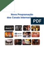 Nova Programação dos Canais Internacionais