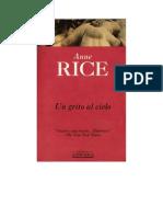 Anne Rice - GAC parte 1 - Un grito al cielo