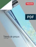 VELUX Tabela de Precos Fev2009