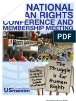 US Human Rights Network 2011 National Human Rights Conference and Membership Meeting Program