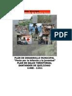 Plan de Salud Territorial 2008 2011