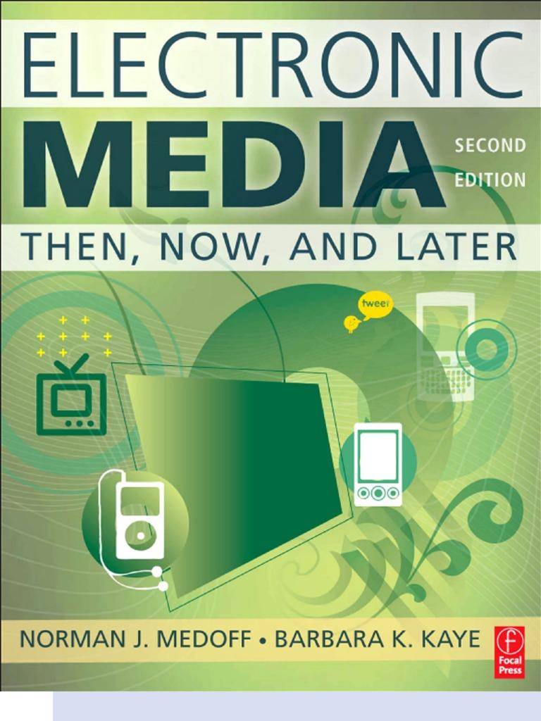 Electronic media 2nd edition mass media transmission medium fandeluxe Images
