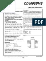 Datasheet Cd4066
