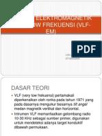 Metode Elektromagnetik Very Low Frekuensi (Vlf-em)