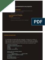 G.P. Ejecución y presentación de proyectos