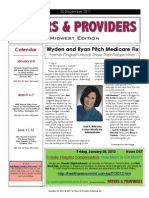 Payers & Providers Midwest Edition – Issue of December 20, 2011