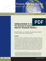 Homelessness in Alberta