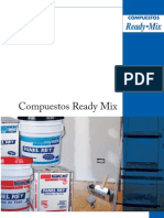 Folleto Compuestos Ready Mix