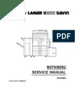 Service Manual - B079-B082