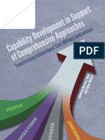 Complex Operations and the Comprehensive Approach