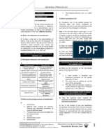 UST GN 2011 - Remedial Law Proper
