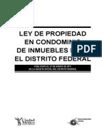 Ley Condominal DF
