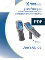 HandHeld D9500 Series Users Guide With Windows Mobile Second Edition