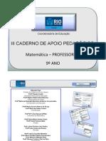 9AnoMatematicaProfessor3CadernoNovo